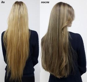 Таким способом можно отрастить свои натуральные волосы.