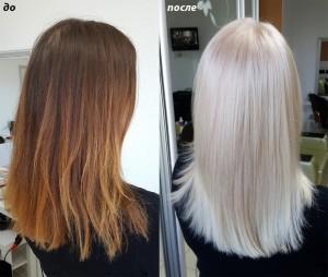Как перекраситься в блондинку