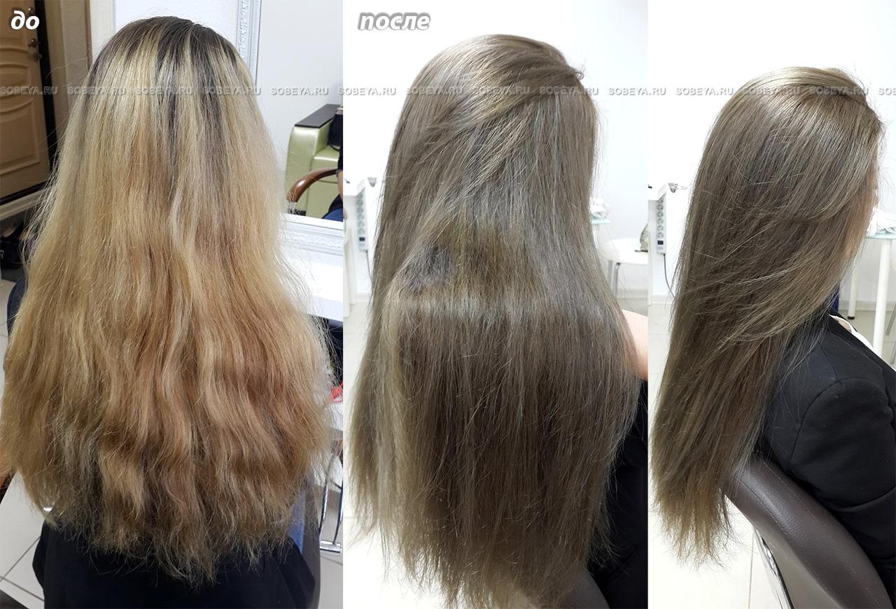 окрасить волосы под свой родной цвет
