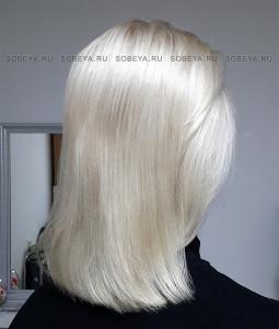 Окрашивание волос. Очень светлый блонд.