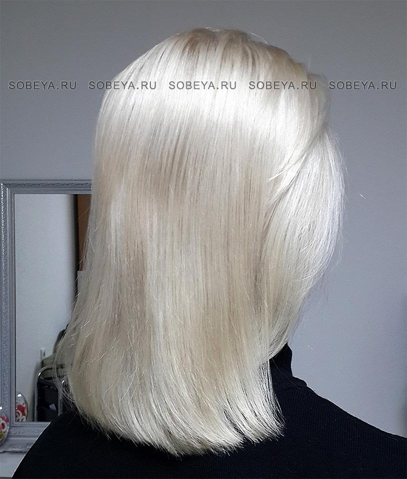 Окрашивание волос Очень светлый блонд