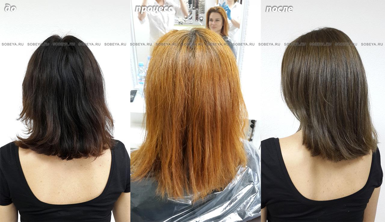 Окрашенный цвет волос нужно поддерживать в домашних условиях