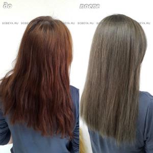 Окрашивание волос в свой натуральный цвет.