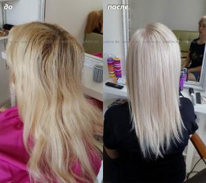 Светлый холодный цвет волос