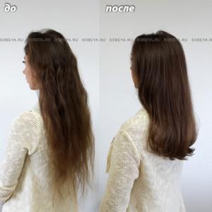 Стрижка на длинные волосы