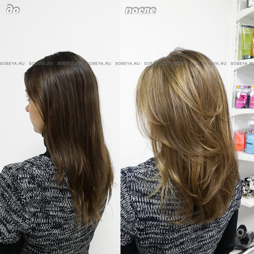 Калифорния -   один из самых щадящих методов осветления волос.