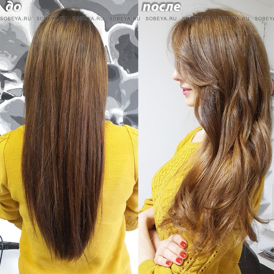 теплый цвет волос укладка крупные локоны кудри