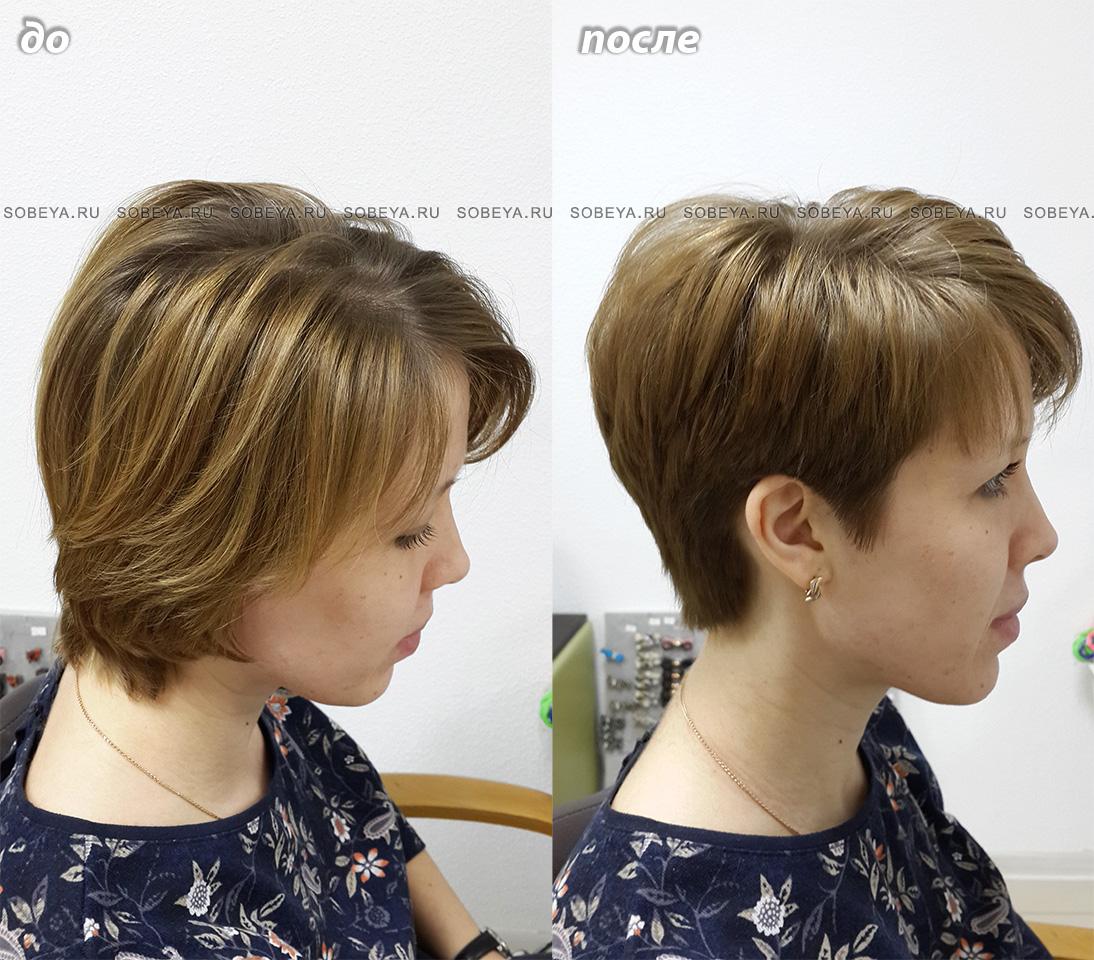 Короткая стрижка женская