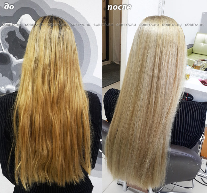 Как убрать желтизну с мелированных волос в домашних условиях 215