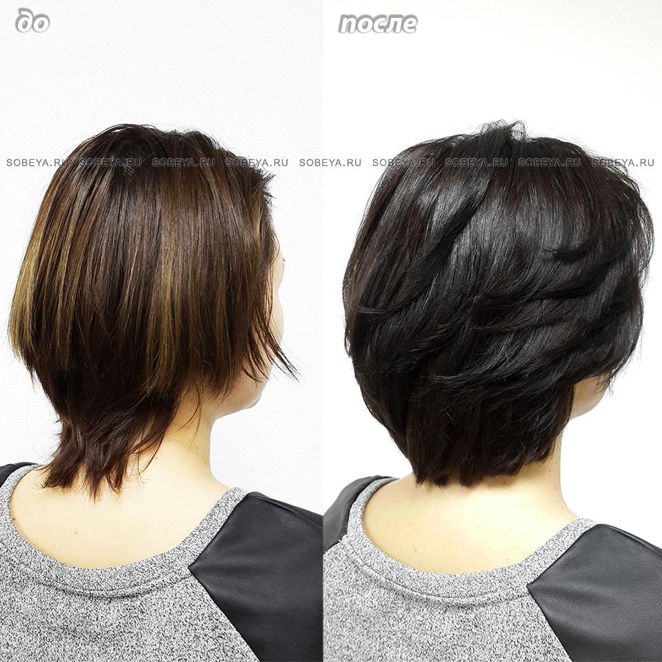 Холодный цвет волос без осветления