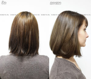 Исправление цвета волос