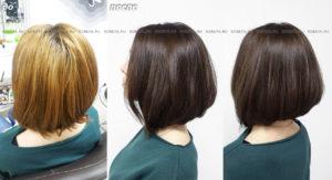 Окрашивание волос в коричневый цвет