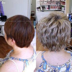 Светлые волосы — прекрасный подарок к весенним праздникам
