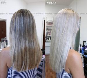 Максимальное осветление волос