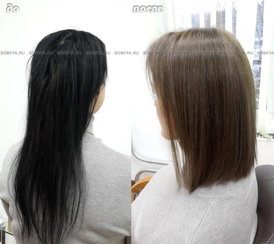 Вывести черный цвет волос в домашних условиях фото 968