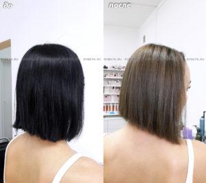 Окрашивание в натуральный цвет волос