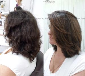 Блики на волосах хорошо освежают образ, делают прическу объемной