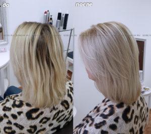 Балаяж — прекрасный метод чтобы подкрасить корни и сохранить отличное качество волос!