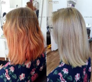 Помогаем вернуть свой родной русый цвет волос.