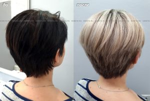 Выведение темного цвета волос