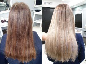 Аиртач один из методов блондирования волос.