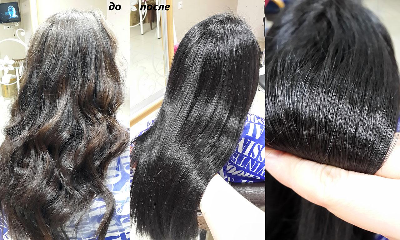 61 как держатся кудри на волосах после кератинового выпрямления